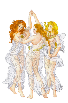 The Three Graces by Cotovatre