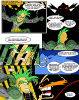 Freedom Fighters page 1 by genocyber