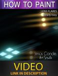 How to paint Lens Flares by JesusAConde
