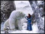 Fairy  Winter and the King Bear (Chtuluh 2015 ) by chtuluh2
