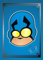 Heads Up Blue Beetle by HeadsUpStudios
