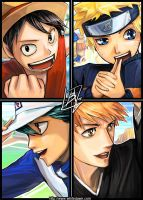 SHONEN JUMP by borammy