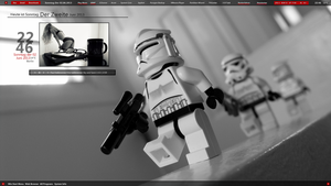 Stormtroopers Grayscale Screenshot by DocBerlin77