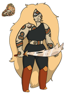 Custom Gem Commish: Leopardskin Jasper by LunaTheNightFury