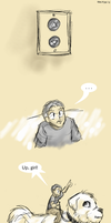 Tiny Jon Goes Up by ErinPtah