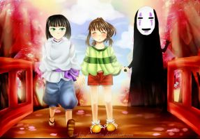 Spirited Away by desidestia