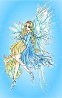 Water Element Fairy by leaair