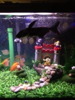 Mario fish tank (2) by bookchick6