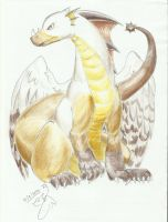 Winged Dragon 2014 by Winged-Dragoness