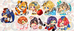 Lovelive Stickers ! by Miss-Pumpkins