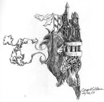 Castles and Dragons 2 by Cwmm