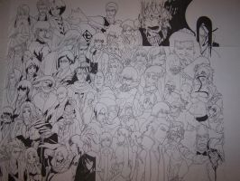 WIP 9 Bleach Project by SuiPumpkin