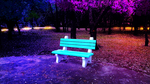 Park Bench by Akhdanhyder