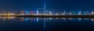Oscillating Skyline by VerticalDubai