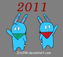 Year of the Blue ears by Jrx296