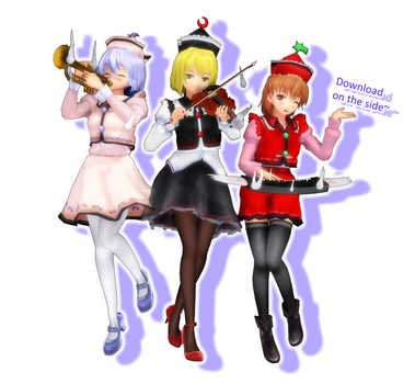 Prismriver Sisters -Arlvit Style- [DL] by PachiPachy