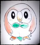Rowlet by LordChatta