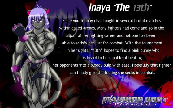 Warrior Bout2 Profile: 13 by CylnX