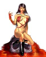 Vampirella by paintgirl