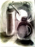 Chemical Fire Still Life by 0AngelicWings0