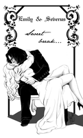 Emily+Severus-Sweet Break by RedPassion