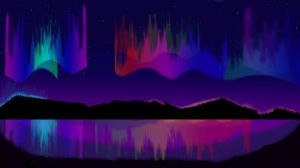 Northern Lights by GalaxyStarzDesign