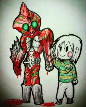 K-RiderTale The Bloody Duo by ArkAges