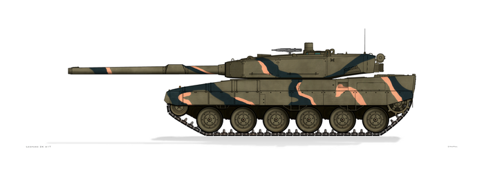 Leopard 2K A1T Turkish Army by MacPaul