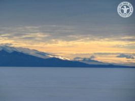 125 Days - Day 75 - Just Another Antarctic Sunset by Kimi-Parks
