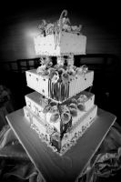 Wedding Cake by ByFuryAtTheHeart