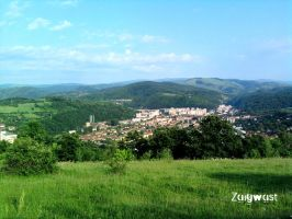 Romania View of City Resita by Zaigwast