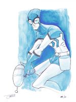 25 Days of DC - Blue Beetle by JeremyTreece