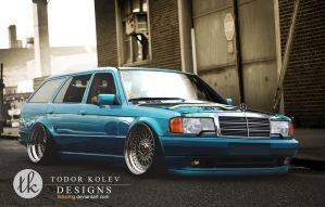 Mercedes Benz W201 by TKtuning