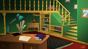A scene for Hidden objects game Test by koshami