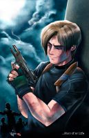 Resident Evil 4: Leon - Story of My Life by Radiant-Grey