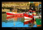Fishing Boats, Cobh Harbour by mizkit