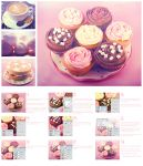Cupcake pink photo effect by Planet37