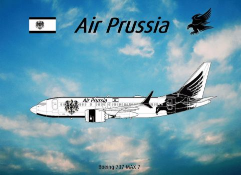 Air Prussia - An eagle in the sky by PrussianPride