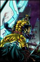 Wolverine in Tokyo - colors by ZethKeeper