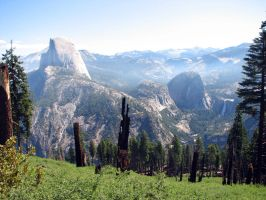 Free Stock Yosemite Valley by tursiart