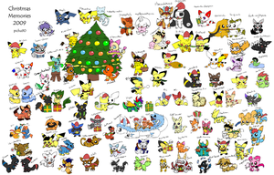 Christmas Memories 2009 by pichu90