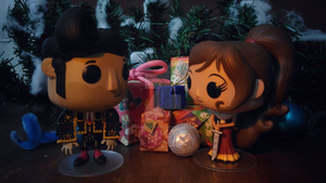 Holiday Funko Pop Figure 46 by iAmAneleBiscarra