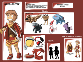 Trainer ID - Copper ref by totodos