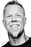 James Hetfield by fnigen
