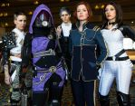 Cast and Crew - Mass Effect by HelenaTears