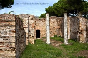 ostia antica ruin by eyefeather-stock