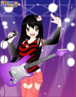 Me as a singer by ItaliniX