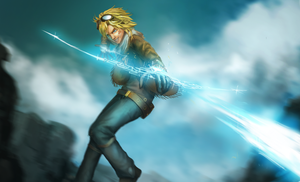 Ezreal by HeadcrabeD