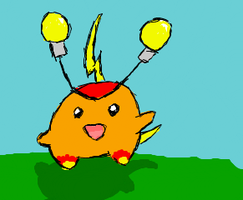 Fire Electric Fakemon by Kelly4321