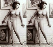 3d June Palmer Nude Art Gallery by 3dpinup
